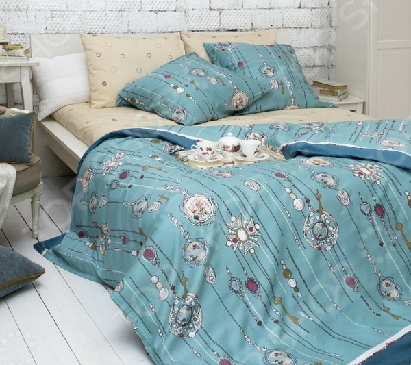 Комплект постельного белья Tiffany's Secret «Секрет Тиффани» комплект постельного белья tiffany s secret семейный сатин секрет тиффани