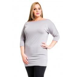фото Туника Mondigo XL 8508. Цвет: серый. Размер одежды: 50