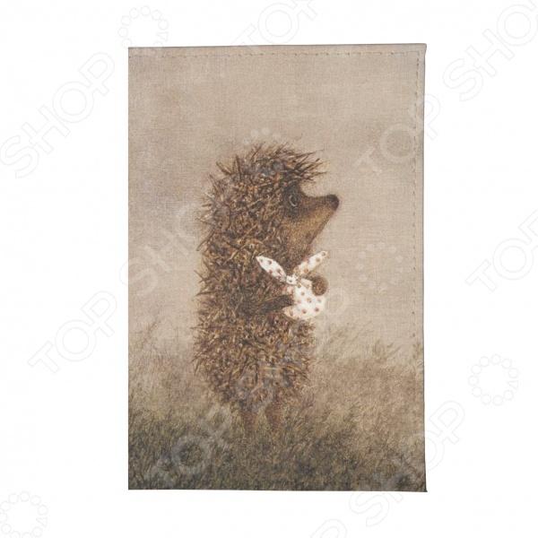 Обложка для автодокументов Mitya Veselkov «Ежик с котомкой»