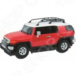 Автомобиль на радиоуправлении 1:26 KidzTech Toyota FJ Cruiser автомобиль на радиоуправлении kidztech bugatti 16 4 grand sport