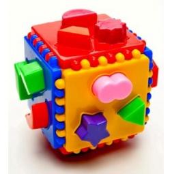 фото Игрушка-сортер развивающая Аэлита «Логический куб»