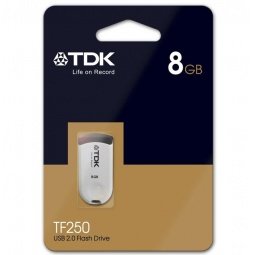 фото Флешка TDK TF250 Black 8GB 2.0 USB Flash Drive