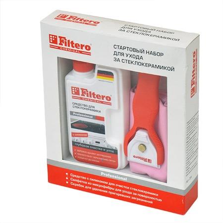 Купить Набор для очистки стеклокерамики Filtero 204