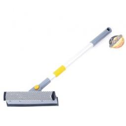 Купить Щетка для мойки телескопическая с губкой и сгоном для воды Автостоп AB-1728