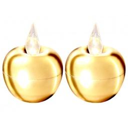 фото Набор из 2-х свечей Star Trading Mini «Яблоко»