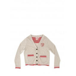 Купить Кардиган детский Fore N Birdie Jersey cardigan with embroidery