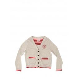 Купить Кардиган детский Fore N Birdie Jersey cardigan with embroidery