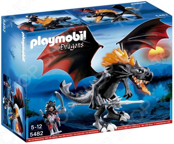 Набор игровой Playmobil «Азиатский дракон: Битва Дракона»Игровые наборы для мальчиков<br>Набор игровой Playmobil Азиатский дракон: Битва Дракона создан для увлекательных игр. Выбор игрового сценария ограничен только детской фантазией, ведь набор включает оригинальные фигурки и аксессуары. Кроме того, они прекрасно сочетаются с другими элементами из аналогичной серии. Игра с подобными наборами развивает воображение. Кстати, комплект на тему драконов порадует не только мальчишек, но и взрослых, увлекающихся миром фэнтези.<br>