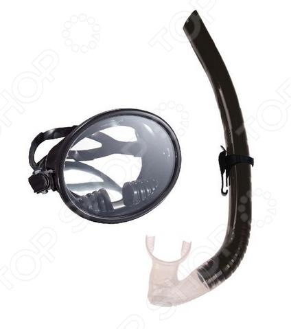Набор из маски и трубки WAWE MS-1332S66Наборы для дайвинга<br>Набор из маски и трубки WAWE MS-1332S66 отличное решение для тех, кто предпочитает активный отдых у водоемов, дайвинг или просто занимается водными видами спорта. Особенность данной модели заключается в оригинальной бескорпусной конструкции. Маска оформлена прочной монолинзой из высококачественного закаленного стекла, которое не будет сильно запотевать. Такая форма линзы обеспечивает широкий угол обзора и прекрасную видимость даже на глубине. Регулируемый силиконовый ремешок позволит подогнать изделие по размеру, поэтому вы можете не переживать, что оно будет постоянного сползать. Для вашего удобства на конце трубки предусмотрен эластичный загубник анатомической формы, закрепленный в оптимальном положении. Также в конструкции есть силиконовый клапан. С его помощью вы легко продуете трубку от воды.<br>