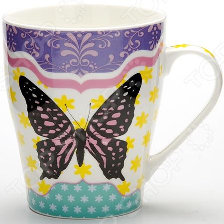 Кружка Loraine LR-24454 «Бабочка»
