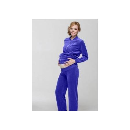 Купить Костюм спортивный для беременных Nuova Vita 9102.05 Цвет: васильковый