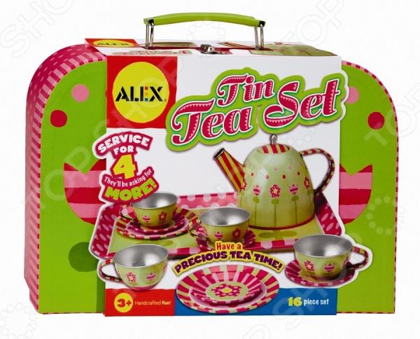 Чайный сервиз Alex «Весна» чайный набор alex в горошек металлическая 705pd