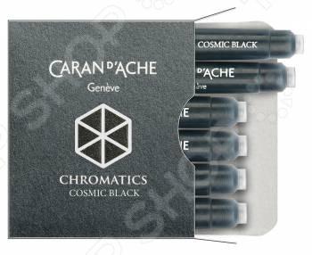 Картридж для перьевых ручек Carandache Chromatics Cosmic картридж caran d ache chromatics hypnotic turquoise для перьевых ручек 6шт 8021 191