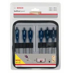 Купить Набор сверл перьевых по дереву Bosch Self Cut Speed