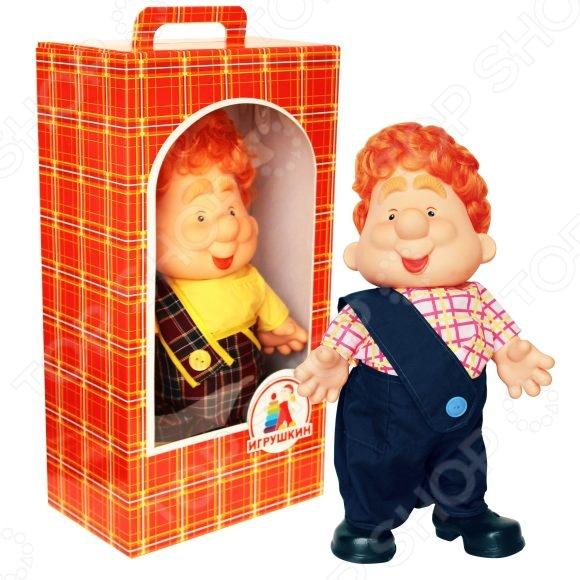 Кукла Игрушкин «Карлуша»Куклы<br>Кукла Игрушкин Карлуша - милая и забавная игрушка которая станет замечательным подарком для вашего малыша. Веселая и хитрая мордашка, рыжая копна волос и веселый костюмчик не оставят равнодушным ни ребенка ни его родителей. Кукла на долго привлечет внимание ребенка и поднимет малышу настроение, станет для него верным другом. Модель выполнена из качественных и безопасных материалов.<br>