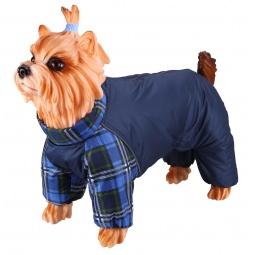 фото Комбинезон-дождевик для собак DEZZIE «Скотч-терьер». Материал подкладки: флис. Пол: сука