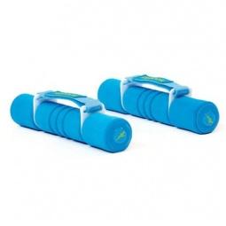 фото Гантель с мягкими накладками Reebok. Вес в кг: 2 кг. Цвет: голубой