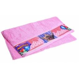 фото Полотенце махровое Непоседа «Мадагаскар. Глория». Размер полотенца: 35х70 см. Цвет: розовый