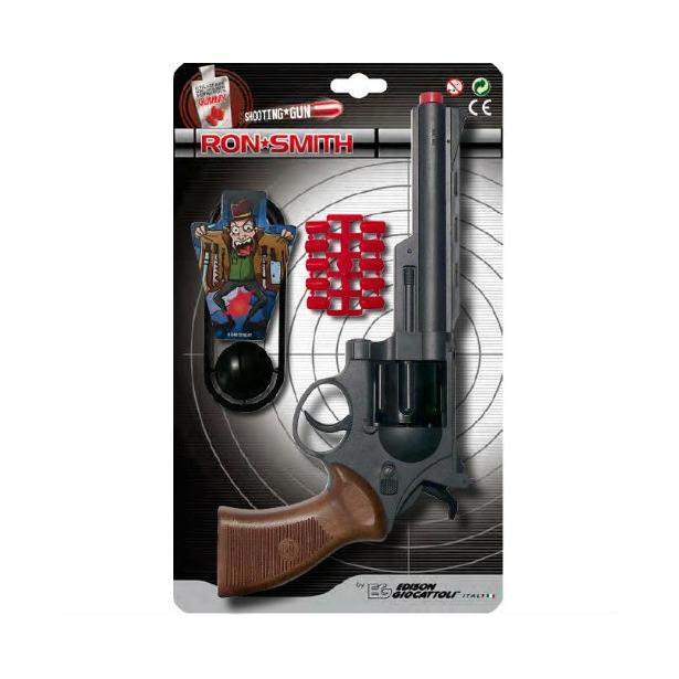 фото Пистолет с пульками и мишенью Edison Champions-Line Ron Smith