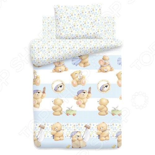 Детский комплект постельного белья Forever Friends «Покоритель морей» черкашин н командоры полярных морей