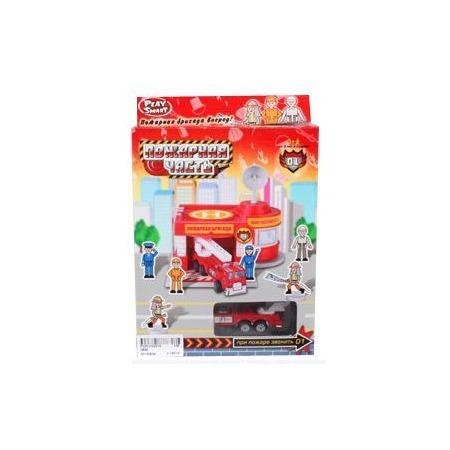Купить Набор игровой для мальчика Shantou Gepai «Гараж. Пожарная часть»