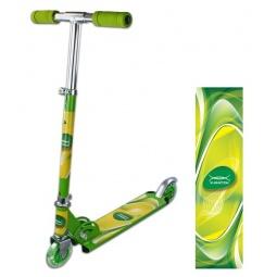 фото Самокат двухколесный X-MATCH Olympic. Цвет: зеленый