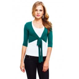 фото Болеро Mondigo 071. Цвет: темно-зеленый. Размер одежды: 46