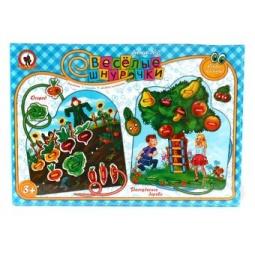 фото Игра развивающая для малыша Русский стиль «Огород и Расчудесное дерево»