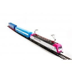 фото Электровоз с вагонами Mehano EUROSPRINTER MAGENTA