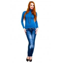 фото Водолазка Mondigo XL 046. Цвет: джинсовый. Размер одежды: 50