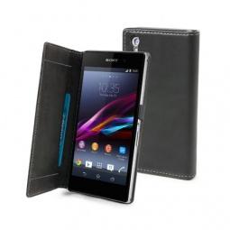 фото Чехол Muvit Slim Folio для Sony Xperia Z. Цвет: черный