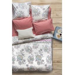 фото Комплект постельного белья Сова и Жаворонок Premium «Магнолия». 2-спальный