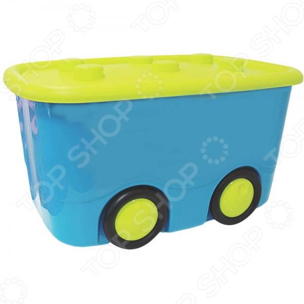 Ящик для игрушек IDEA М 2598 незаменимый атрибут для детской комнаты. В нем удобно хранить одежду, игрушки и различные аксессуары для вашего малыша. Качественная и удобная модель оснащена непрозрачной крышкой. Яркий ящик обязательно понравится вашему ребенку и станет красочным акцентом в интерьере детской комнаты.