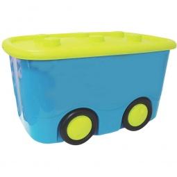 фото Ящик для игрушек IDEA М 2598. Цвет: бирюзовый