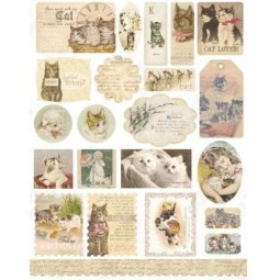 фото Набор стикеров из кардстока Melissa Frances Here Kitty, Kitty