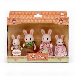 Купить Набор игровой Village Story «Семья карамельных кроликов»