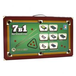 Купить Настольная игра 7 в 1 1 TOY Т52444