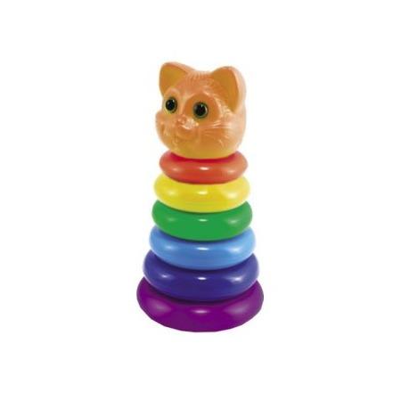 Купить Игрушка-пирамидка Нордпласт «Кот» 06371