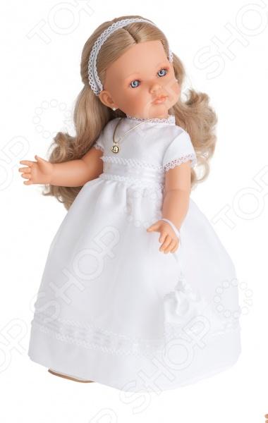 Кукла Munecas Antonio Juan «Белла блондинка. Первое причастие.» кукла интерактивная munecas antonio juan каталина блондинка