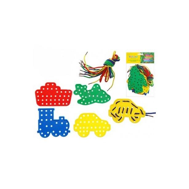 фото Игра развивающая для малыша Tukzar «Шнуровка. Транспорт» 26488