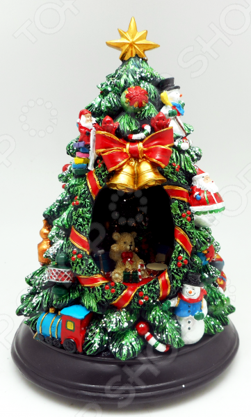 Музыкальная композиция Crystal Deco «Новогодняя елка»Рождественские декорации<br>Музыкальная композиция Crystal Deco Новогодняя елка это прекрасное украшение для дома или рабочего пространства в офисе. Музыкальное сопровождение, высокопрочный материал полистоун, насыщенные оттенки красок все это оставит лишь положительные впечатления о подарке. Отлично подходит в качестве универсального сувенира для взрослых и детей.<br>