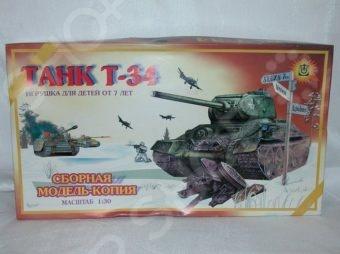 Сборная модель танка Огонек «Т-34» С-179