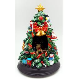 фото Музыкальная композиция Crystal Deco «Новогодняя елка»