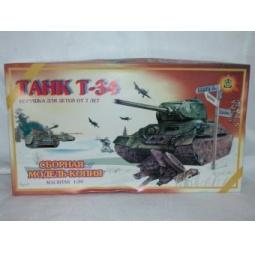 фото Сборная модель танка Огонек «Т-34» С-179