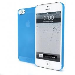 фото Чехол Muvit iMatt ультратонкий для iPhone 5. Цвет: голубой