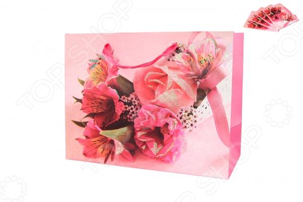 Набор подарочных пакетов Elan Gallery Букет цветов поможет вам достойно преподнести подарок к любому празднику. Ведь упаковка подарка это первое, что бросается в глаза. Этот оригинальный красочный пакет обязательно вызовет положительные эмоции и приятные ассоциации, а также подчеркнет торжественность случая. В набор входят 4 пакета.