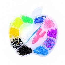 фото Набор резиночек для плетения Colorful Bands «Яблочко» NR009
