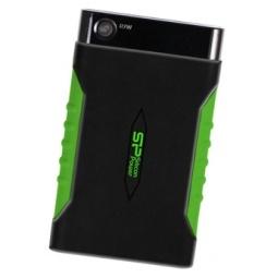 фото Внешний жесткий диск Silicon Power Armor A15 1TB. Цвет: зеленый, черный