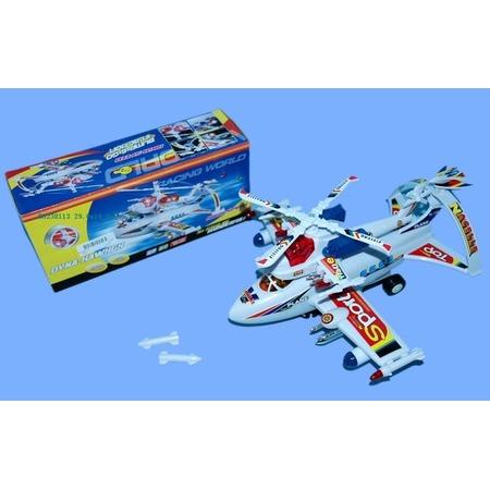 Купить Самолет игрушечный со световыми эффектами Dyna Hawhgx 1707151