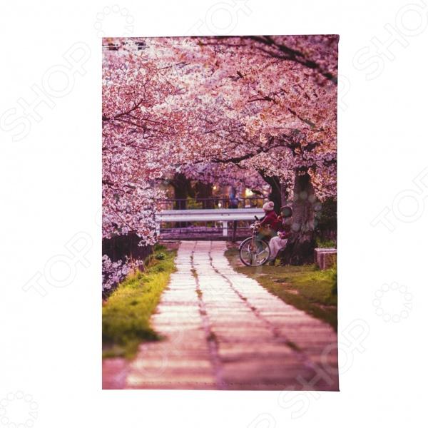 Обложка для автодокументов Mitya Veselkov «Цветущая аллея» визитница женская mitya veselkov цветущая аллея цвет розовый vizit 305